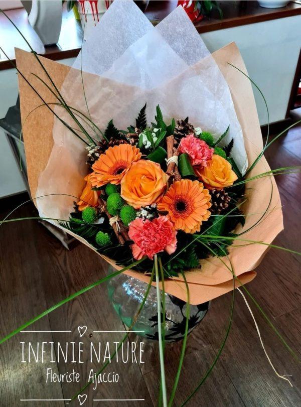 Bouquet fleuriste Ajaccio Infinie Nature