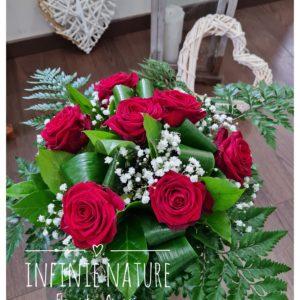 Bouquet roses fleuriste Ajaccio Infinie Nature